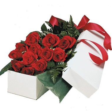 Caja con doce rosas for 12 dozen roses at your door