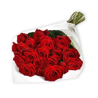 Bouquet de veinte y cuatro rosas